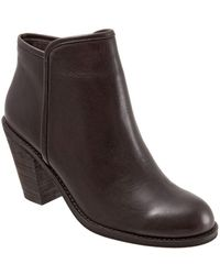 Softwalk - Frontier Leather Booties - Lyst