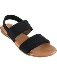 Andre Assous - Nigella Leather Slingback Sandals - Lyst
