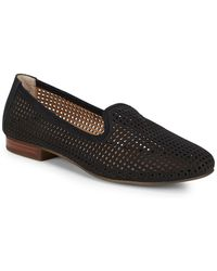 Me Too - Yale Nubuck Perforated Loafers - Lyst