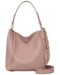 AllSaints - Kita Leather Hobo - Lyst