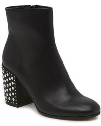 Dolce Vita - Olin Leather Booties - Lyst