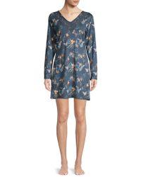 Sesoire - Floral Sleepshirt - Lyst