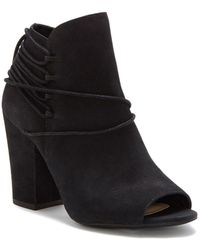 Jessica Simpson - Remni Nubuck Leather Booties - Lyst