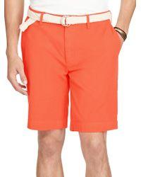 Polo Ralph Lauren - Classic-fit Pima Twill Shorts - Lyst