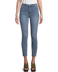 Free People - Hi Roller Cropped Jeans - Lyst