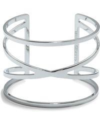 Vince Camuto - Crisscross Cuff Bracelet - Lyst