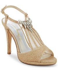 Caparros - Ohara Glitter Embellished Heels - Lyst