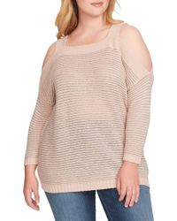 Jessica Simpson - Plus Karafina Sweater - Lyst