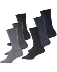 Ralph Lauren - 6-pack Roll Top Polo Trouser Socks - Lyst
