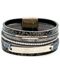 Noir Jewelry Goldtone - Black