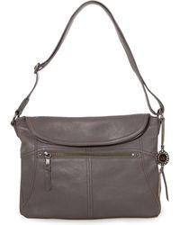 The Sak - Esperato Flap Leather Hobo Bag - Lyst