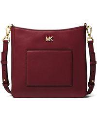 MICHAEL Michael Kors - Gloria Pocket Swing Crossbody Bag - Lyst