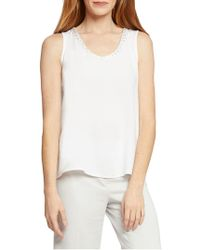 NIC+ZOE - Sequin Moment Tank - Lyst