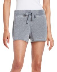 Roudelain - Soft Touch Textured Drawstring Shorts - Lyst