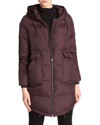 Donna Karan - Quilted Down Oversized Coats - Lyst
