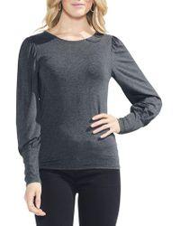 Vince Camuto - Bubble-sleeve Top - Lyst