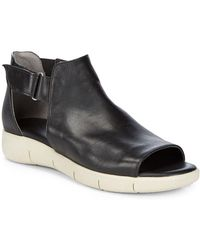 The Flexx - Front Row Leather Buckle Sandals - Lyst