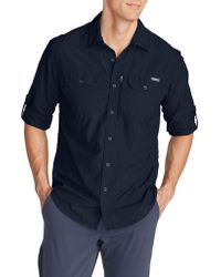 Eddie Bauer - Long Sleeve Exploration Shirt - Lyst