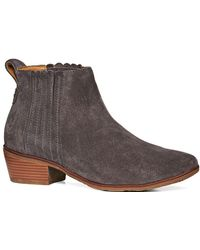 Jack Rogers - Liddy Suede Ankle Booties - Lyst