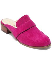 Me Too - Classic Suede Mule - Lyst