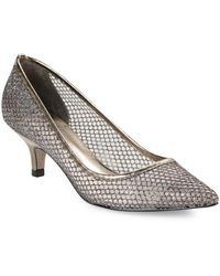 Adrianna Papell - Lois Mesh Pumps - Lyst