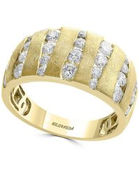 Effy - D'oro Diamond And 14k Yellow Gold Ring - Lyst