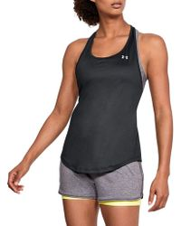 Under Armour - Heatgear Mesh Back Tank Top - Lyst