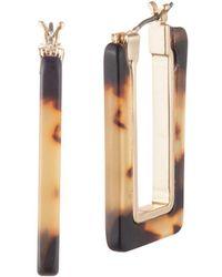 Ralph Lauren - Classic Hoop Earrings - Lyst