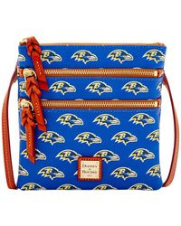 Dooney & Bourke - Ravens Triple Zip Crossbody Bag - Lyst