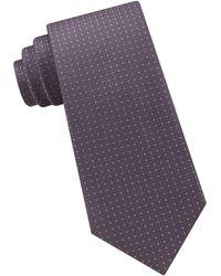 Michael Kors - Tonal Square Silk Tie - Lyst