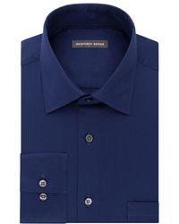 Geoffrey Beene - Go Long Sleeve Dress Shirt With Point Flex Collar - Lyst