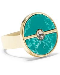 Vince Camuto Stone Inlay Ring