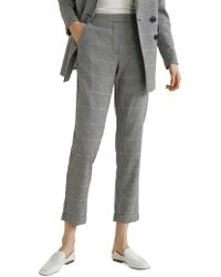 Mango - Soul Houndstooth Trousers - Lyst
