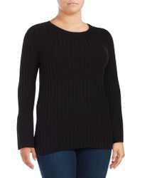 Lord & Taylor - Plus Bell Sleeve Blouse - Lyst