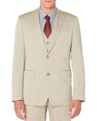 Perry Ellis - Regular-fit Heather Twill Suit Jacket - Lyst