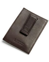 Lauren by Ralph Lauren - Leather Card Case With Money Clip - Lyst