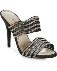 Caparros - Luzy Rhinestone Stiletto Sandals - Lyst