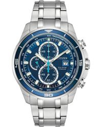 Citizen - Ti+ip Eco-drive Analog Stainless Steel Watch - Lyst