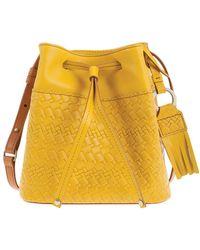Lodis - Rodeo Woven Rfid Blake Small Drawstring Bag - Lyst