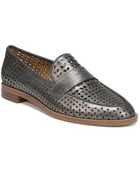 Franco Sarto - Hudley Perforated Leather Loafers - Lyst