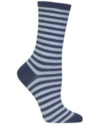 Hot Sox - Holiday Striped Socks - Lyst