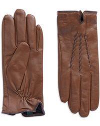Lauren by Ralph Lauren - Leather Gloves - Lyst