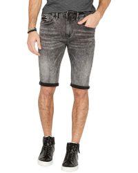 Buffalo David Bitton - Parker Slim-fit Denim Shorts - Lyst