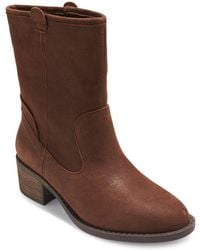 Me Too - Tanger Leather Booties - Lyst