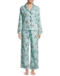 Pj Salvage - Printed Pyjama Set - Lyst