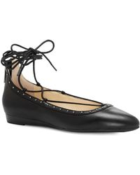 Jessica Simpson - Women's Libra Lace-up Flat - Lyst