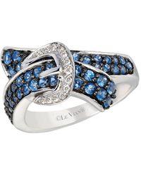 Le Vian - Cornflower Ceylon Sapphire 14k White Gold Ring - Lyst