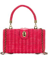 Patricia Nash - Ayora Wicker Satchel - Lyst