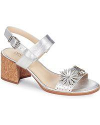 Isaac Mizrahi New York - Franchesca Block Heel Sandals - Lyst