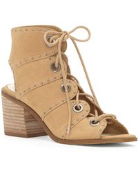 Jessica Simpson - Ryanna Lace Up Sandal - Lyst